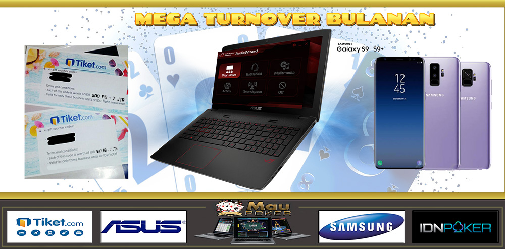 EVENT BONUS TURNOVER BULANAN Agen Poker Server Idn